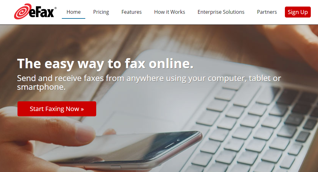 eFax is a popular free fax app for iPhone