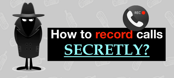 How to record a phone call on iPhone secretly?