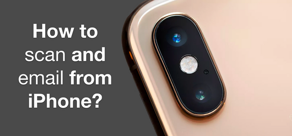 Learn how to scan and email from iPhone