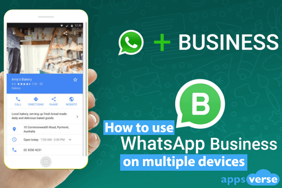 How to use WhatsApp Business on multiple devices