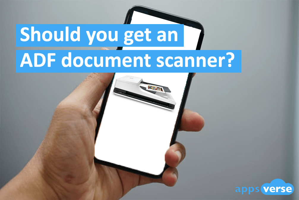 4 Top ADF document scanners you can get today plus alternatives!