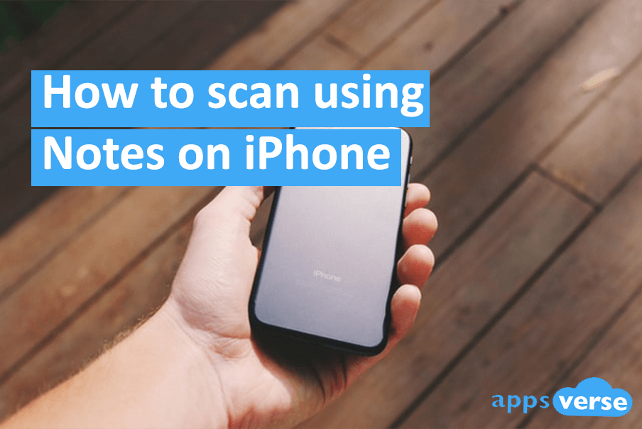 How to scan using Notes on iPhone